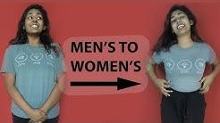 DIY: Men's T-Shirt to Women's Shirt Refashion | Step-By-Step Sewing Tutorial