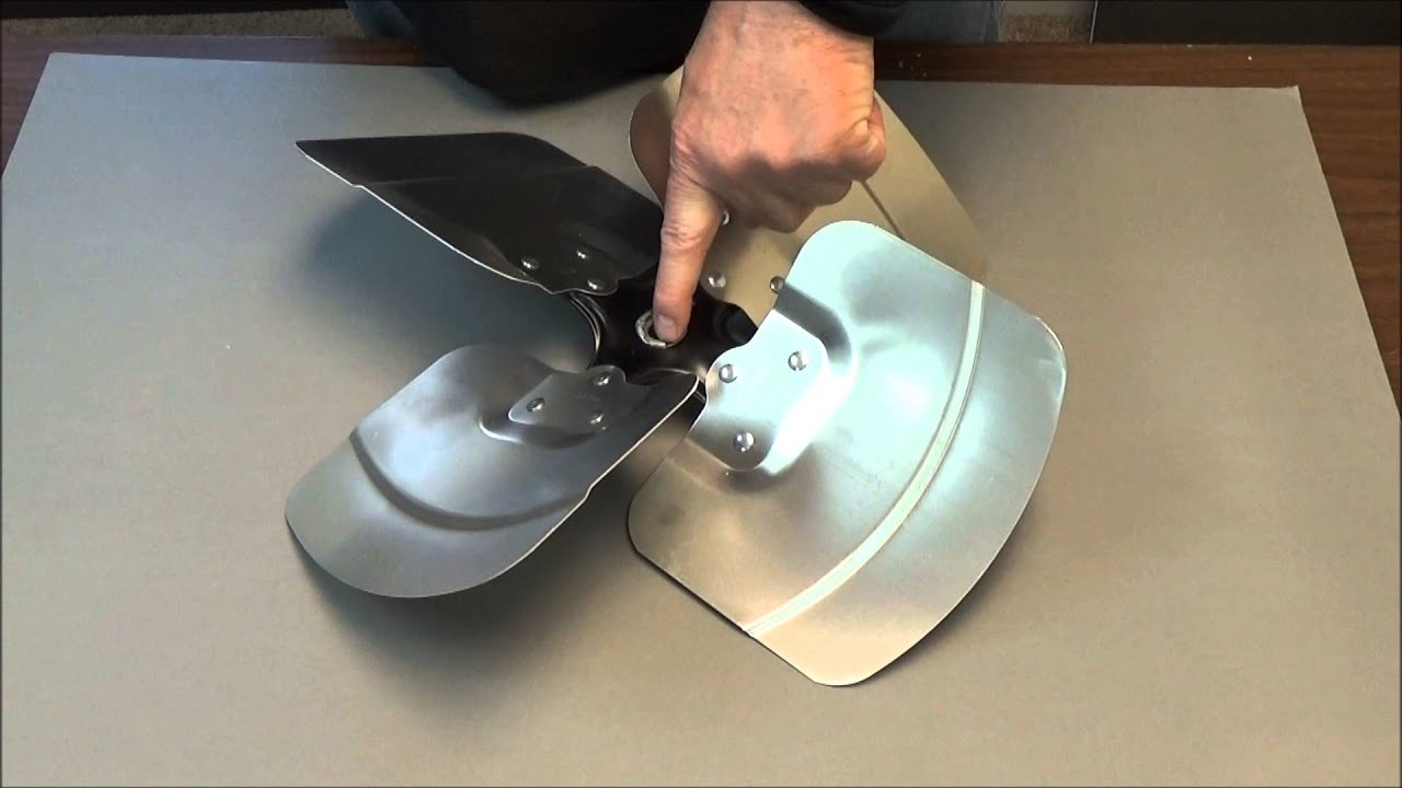 Replacing Condenser Fan Blade Youtube