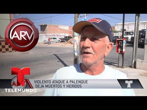 Muertos y heridos en masacre en Guanajuato | Al Rojo Vivo | Telemundo