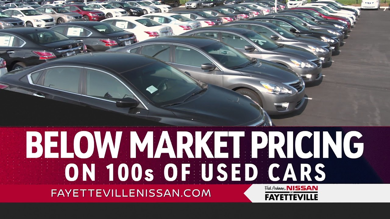 Fred Anderson Nissan of Fayetteville - Nissan Now Used Specials ...
