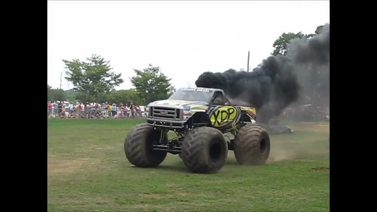 Fuel Truck Wheels >> XDP Diesel Monster Truck at Wheels of Time 2012 - YouTube