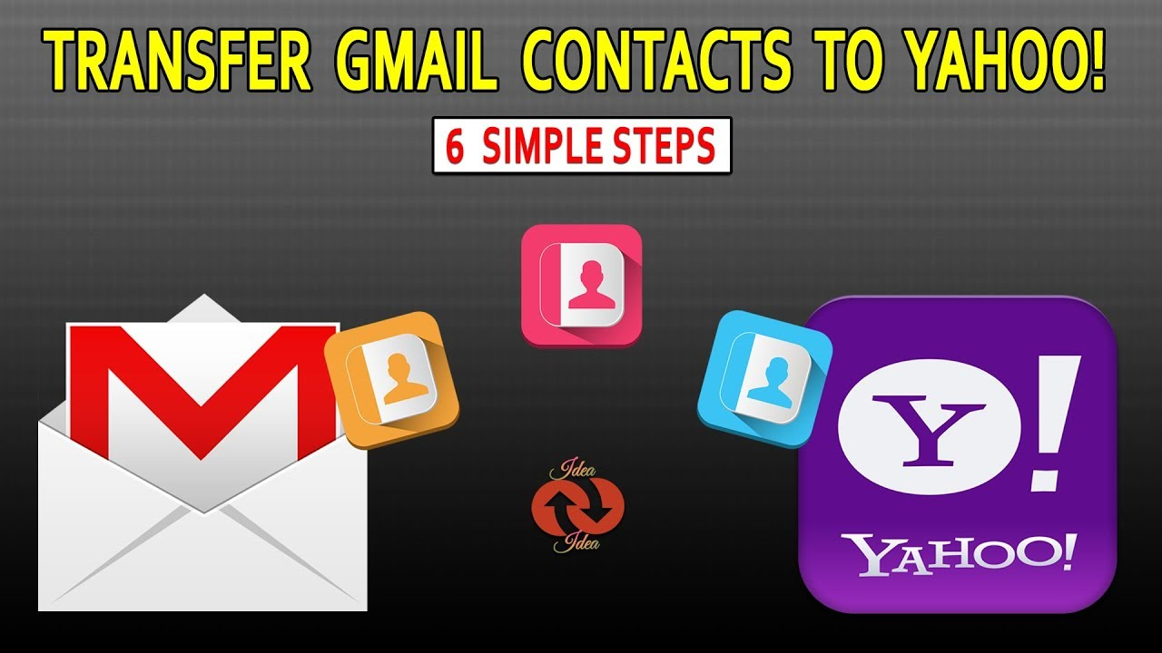 How to import Contacts from Gmail to Yahoo Mail | Quick Tutorial