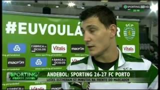 Andebol :: 06J :: Sporting - 26 x Porto - 27 de 2015/2016