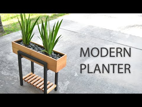 How to make a RAISED PLANTER BOX