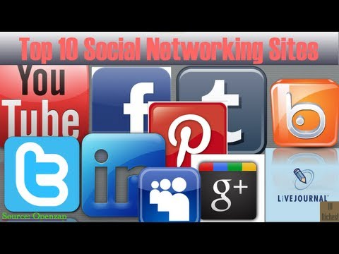 Top 10 Social Networking Sites in 2013