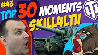 #43 skill4ltu & Type 4 Heavy TOP 30 Funny Moments   Best Twitch Clips   World of Tanks