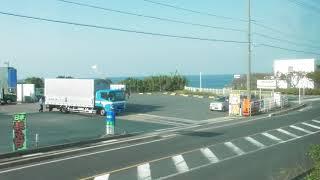 【車窓風景】特急スーパーまつかぜ10号鳥取行き(米子→鳥取)