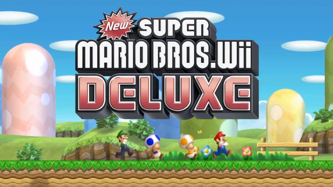 New Super Mario Bros Wii Deluxe Trailer Youtube