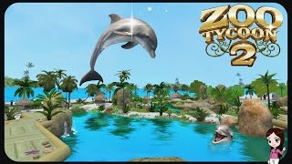 Dolphins Sea World 🐬 | Zoo Tycoon 2 | Ultimate Collection Zoo Building