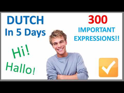 Learn Dutch in 5 Days - Conversation for Beginners