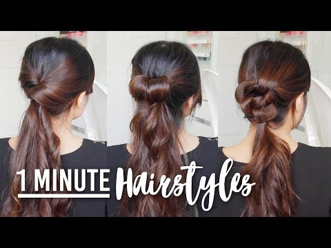 Easy Hair Tutorials for Medium to Long Hair