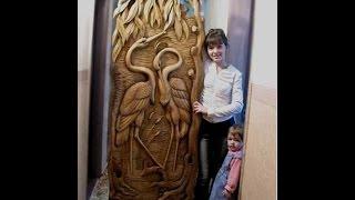 Резьба по дереву, рисунки. Интересные идеи