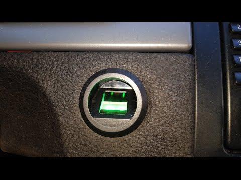 Запуск по отпечатку пальцев BMW X5
