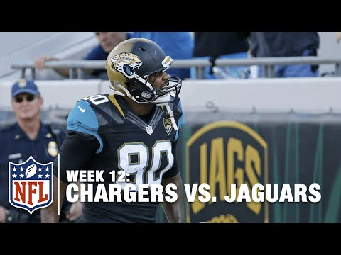 Blake Bortles Finds Julius Thomas on 4th Down for a Big TD! | Chargers vs. Jaguars | NFL