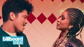 Cardi B & Bruno Mars 'Please Me' Dominates the Charts: Rhythmic Songs, Rap Airplay | Billboard News