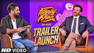 FANNEY KHAN Trailer Launch   Anil Kapoor, Aishwarya Rai Bachchan, Rajkummar Rao