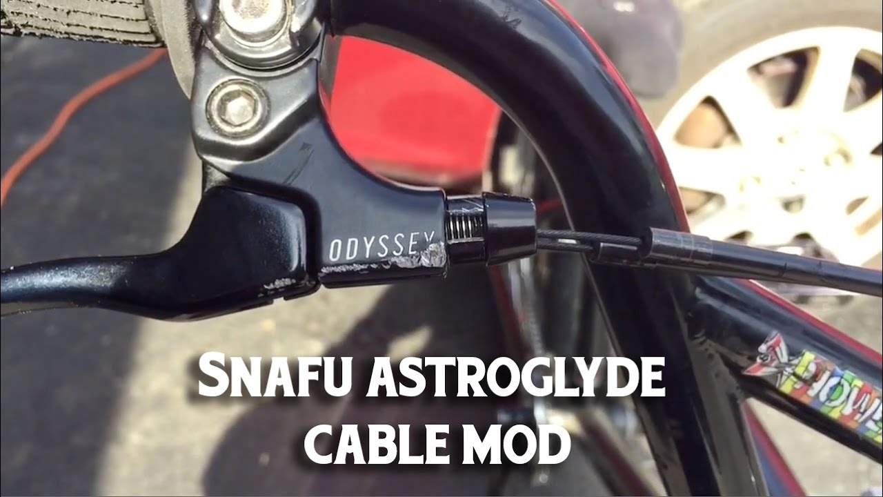 Snafu Dual Lower Astroglide Cable