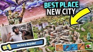 NEW HIDDEN CITY!! NEW MAP - FORTNITE BATTLE ROYALE