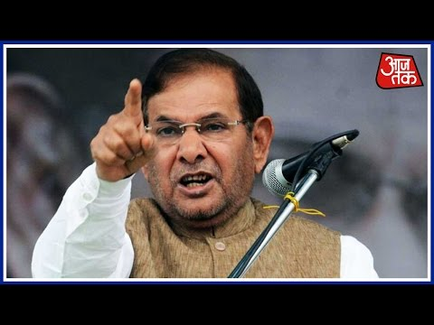'Honour Of Vote Comes Above Honour Of Daughter' Says Sharad Yadav In Patna