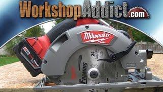 "Milwaukee M18 Fuel 7-1/4"" Circular Saw (2731-21)"