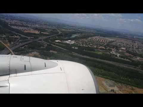 Air China Ca904 landing in Beijing