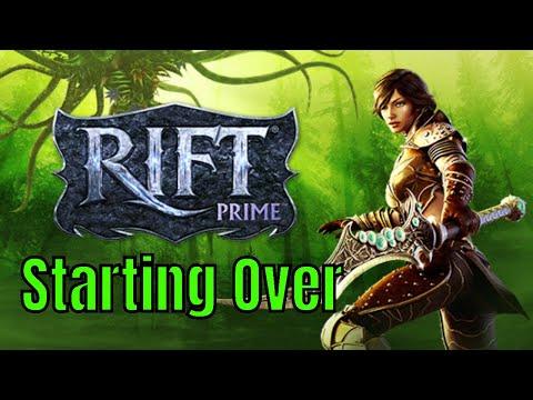 RIFT Prime: Character Creation