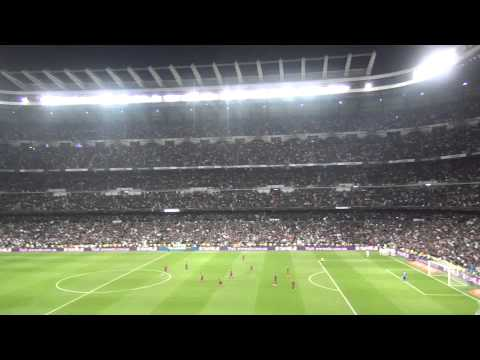 Fondo Ruso On Tour: Benzema's second goal in El Clasico 23/03/2014 from the Bernabeu tribune
