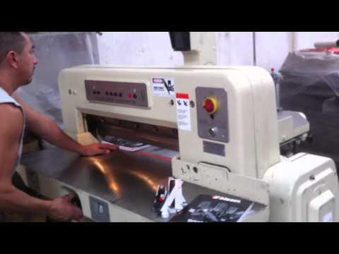 Guillotina / Paper Cutter Polar Mohr Eletromat