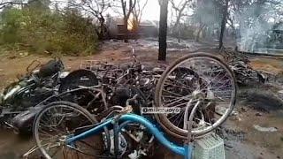 Взрыв бензовоза: десятки погибших