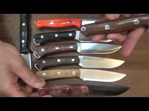 Bark River Fox River and Gunny knife