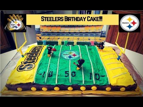 Steelers Birthday Cake | StewarTV