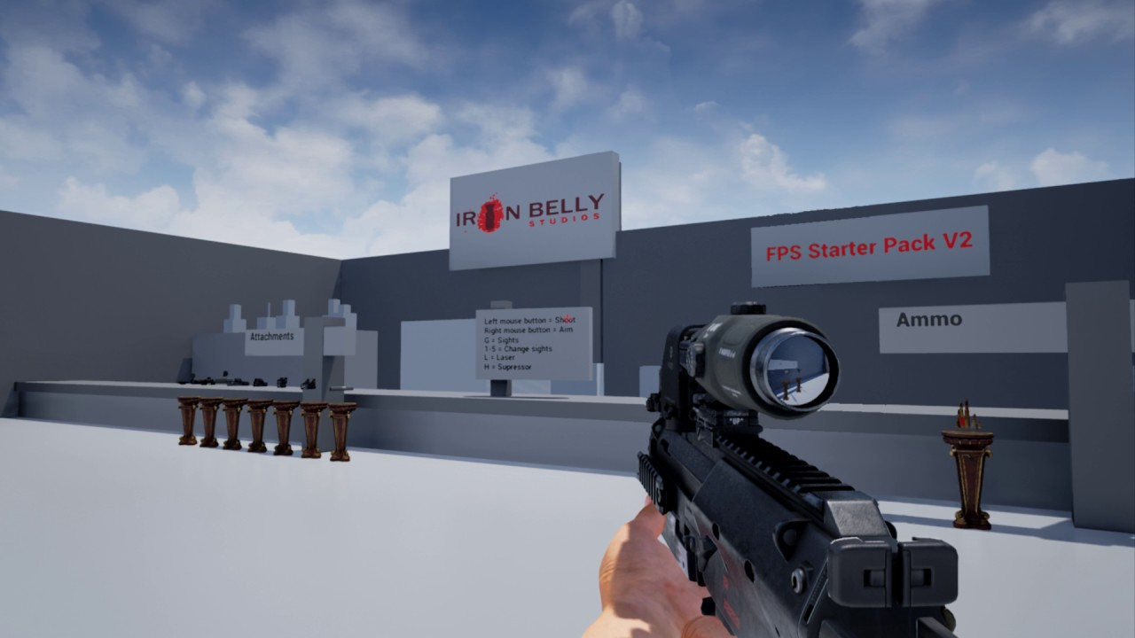 The Ironbelly FPS Kit #2 - UE4