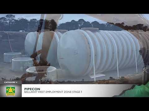 2017 CCF Vic Earth Awards Cat 4 Finalist - Pipecon Pty Ltd