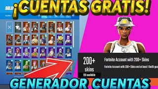 (EXPLAINED)HOW TO GENERATE FORTNITE*FREE* BILLAccounts/THIS PAGE GIVES YOU CHETADAS ACCOUNTS😱