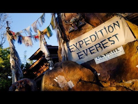 Expedition Everest Complete Experience HD Animal Kingdom Walt Disney World