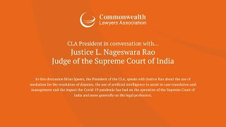 CLA President in Conversation with Justice L. Nageswara Rao