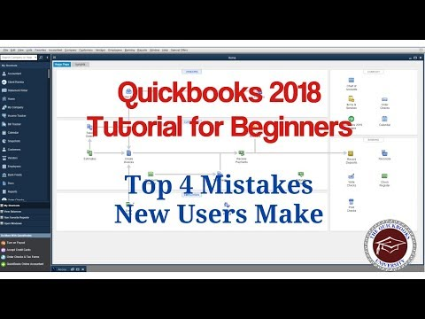 quickbooks-2018-tutorial-for-beginners---top-4-mistakes-to-avoid