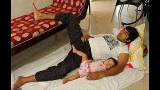 Download Daddies and Babies Funny Moments -  Cute Baby  Copies Daddy Compilation Mp3 and Videos