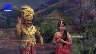 """SV Ranga Rao & Jayalalithaa Scenes""- Sri Krishna Vijayam Movie    NTR   SVR  Jayalalithaa   Jamuna"