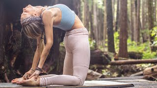 30 Min Full Body Flow   Yoga To Stretch, Breathe, & Feel The Bliss