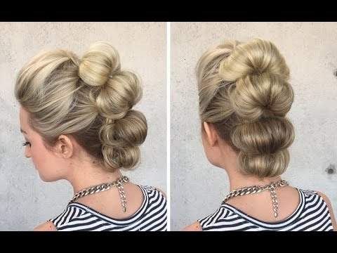 Topsy Tail Loop Faux Hawk