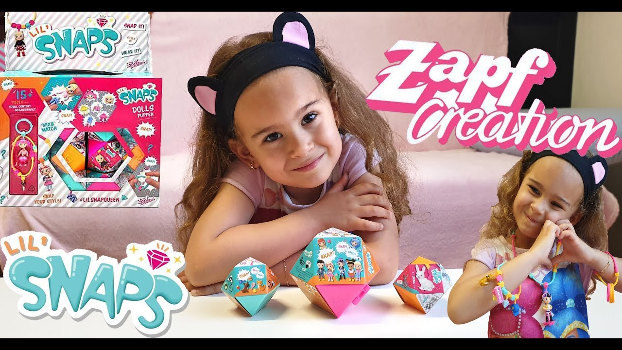 New Lil Snaps Zapf Creation Mix And Match Jewelry For Kids Youtube