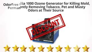 Easily Treats Up to 3000 Sq Ft Pet and Musty Odors at Their Source Permanently Removing Tobacco OdorFree Villa 3000 Ozone Generator for Killing Mold