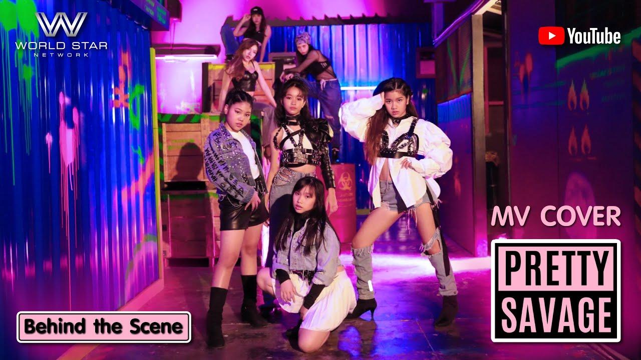 Vita, Fahsai, Pure, Fara / BLACKPINK - 'Pretty Savage' [Cover] Behind The Scenes