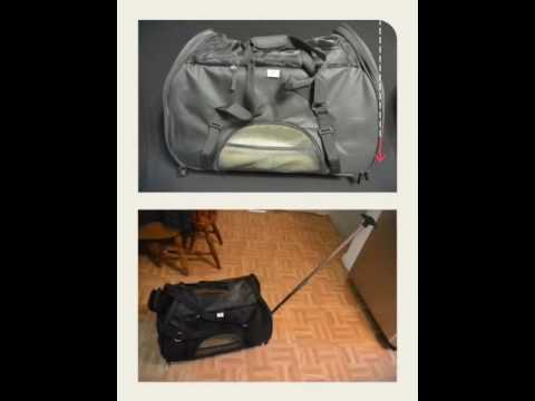 Removable Wheeled Airline Approved Pet Carrier Petloverswps Youtube