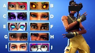 GUESS THE EYES OF THE SKIN IN FORTNITE | Ultimate Fortnite Quiz #1