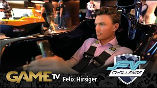 Game TV Schweiz - Felix Hirsiger erobert die virtuelle Formel 1