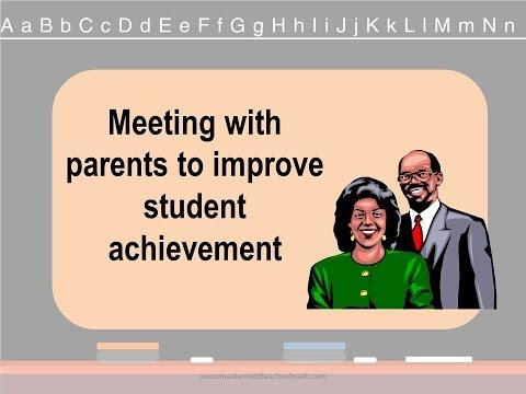 Successful Parent Teacher Conferences YouTube