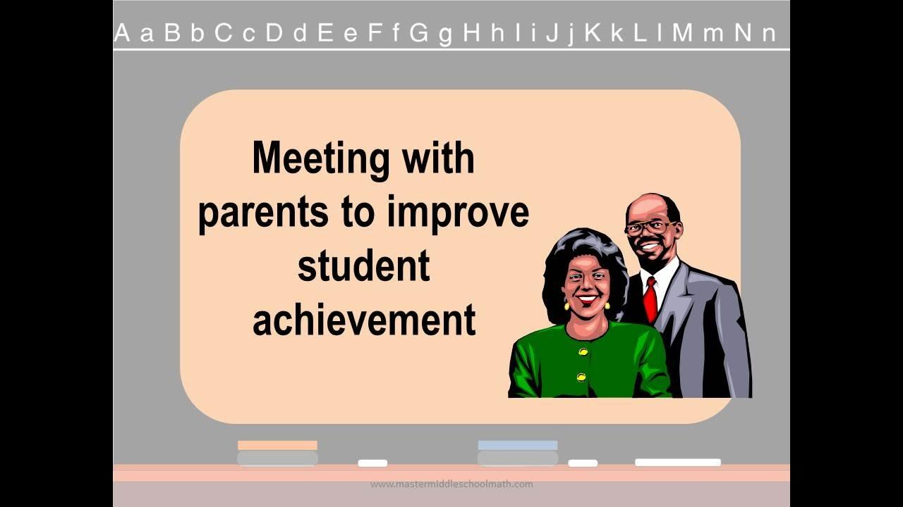 Successful Parent Teacher Conferences