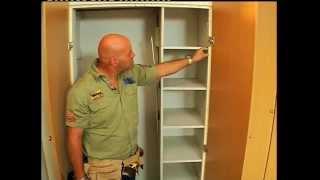 Diy Tip Unhinge Those Old Cupboard Doors